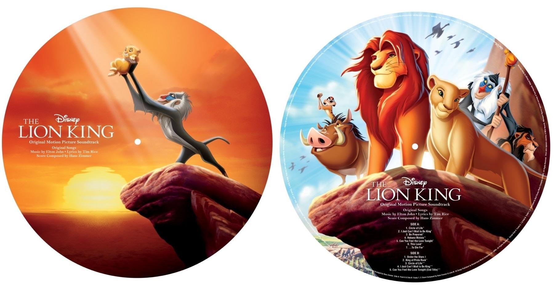 Disney lança Vinil customizado de O Rei Leão na HotTopic