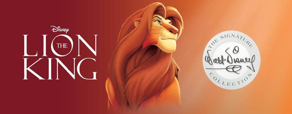 Disney começa a promover o lançamento do Walt Disney Signature Collection de O Rei Leão